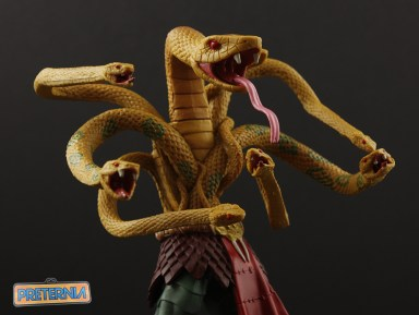 Mattel MOTUC Serpentine King Hssss Review