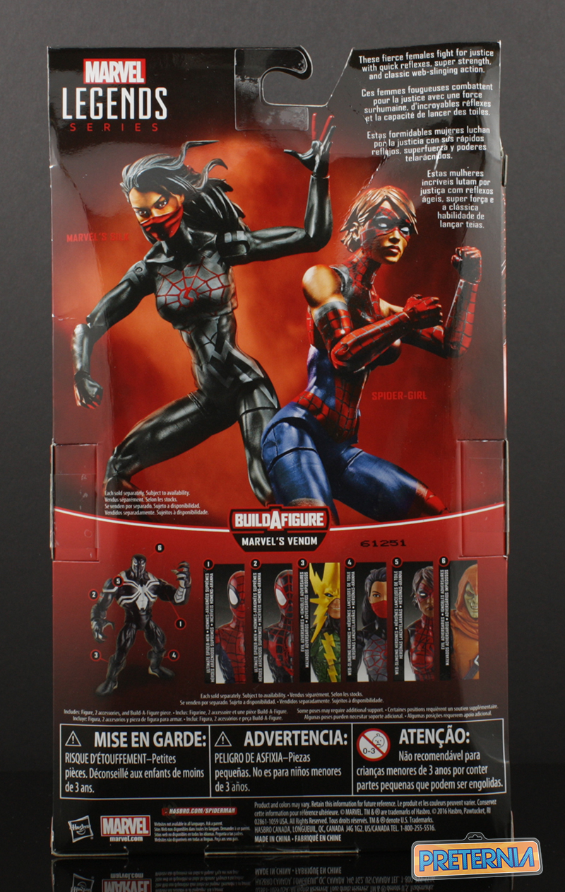 Hasbro Marvel Legends Spider-Man Silk Review
