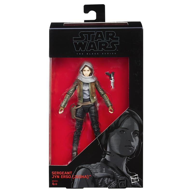 Star Wars Black Jyn Erso Rogue One Hasbro