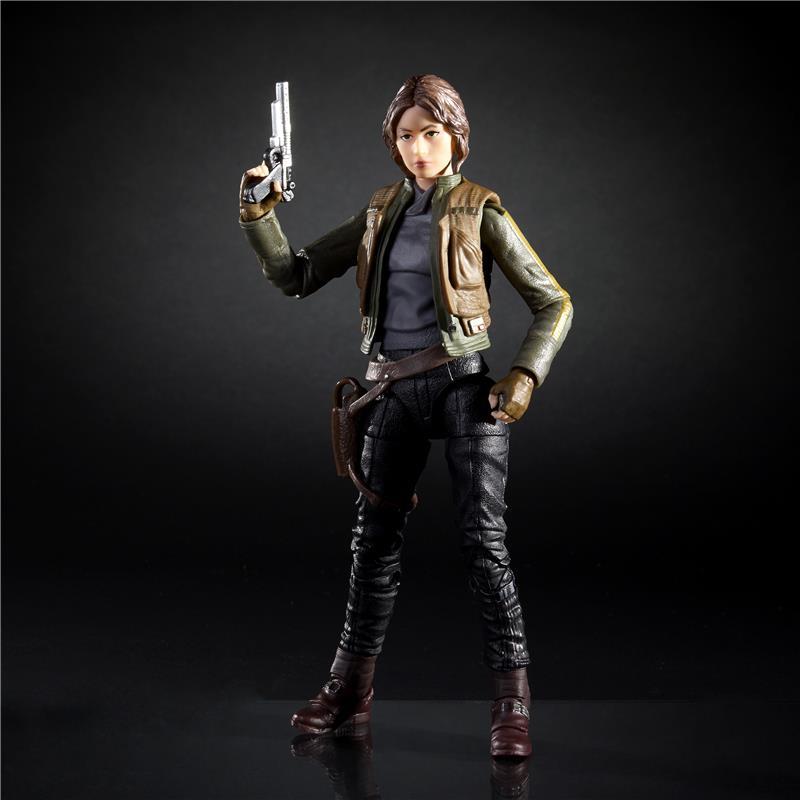 Star Wars Black Jyn Erso Rogue One Hasbro