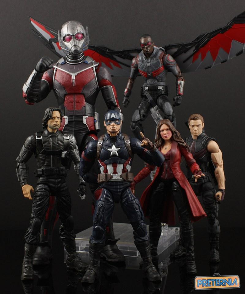 Hasbro Marvel Legends Falcon Walmart Exclusive Review