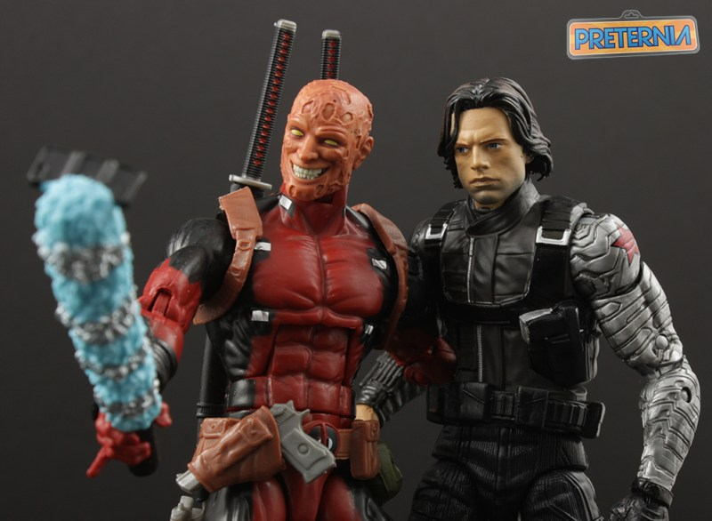 Hasbro Marvel Legends Winter Soldier Walmart Exclusive Review