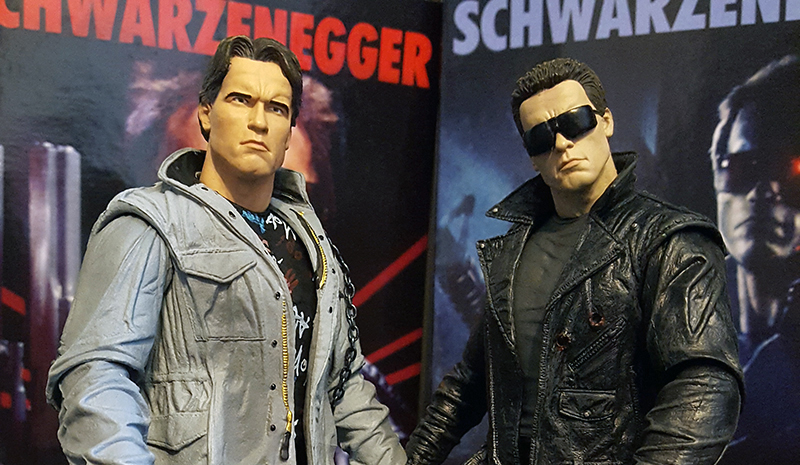NECA Tech Noir and Police Assault Ultimate Terminator Review
