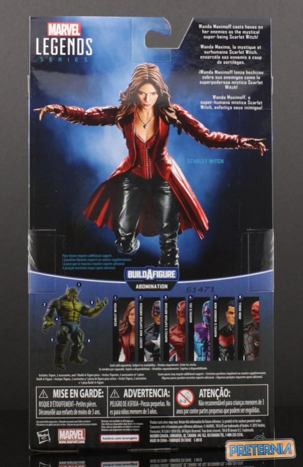 Hasbro Marvel Legends Scarlet Witch Abomination Wave Review