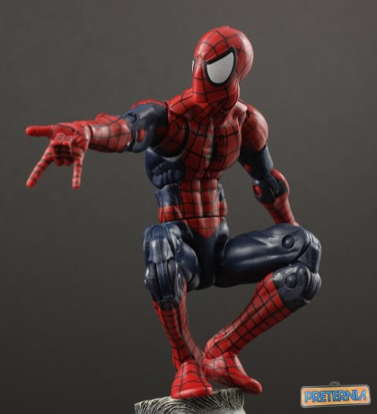 Marvel Legends The Raft Spider-Man Review SDCC