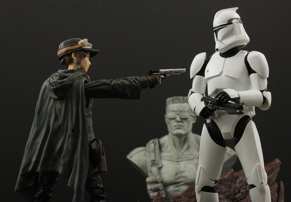 """3.75/"""" Action FIGURE EADU STAR WARS SERGEANT JYN ERSO"""