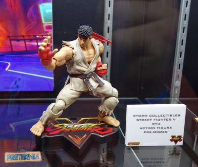 NYCC 2016 Storm Collectibles Street Fighter V