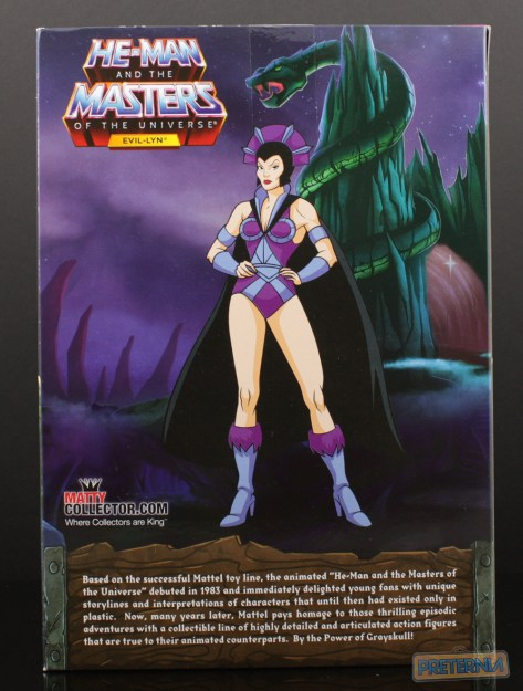 Mattel MOTUC Filmation Evil-Lyn Club Grayskull Review