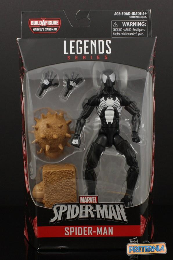 Hasbro Marvel Legends Sandman Series Symbiote Spider-Man Review