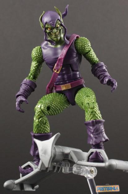 Hasbro Marvel Legends Sandman BAF Green Goblin Review