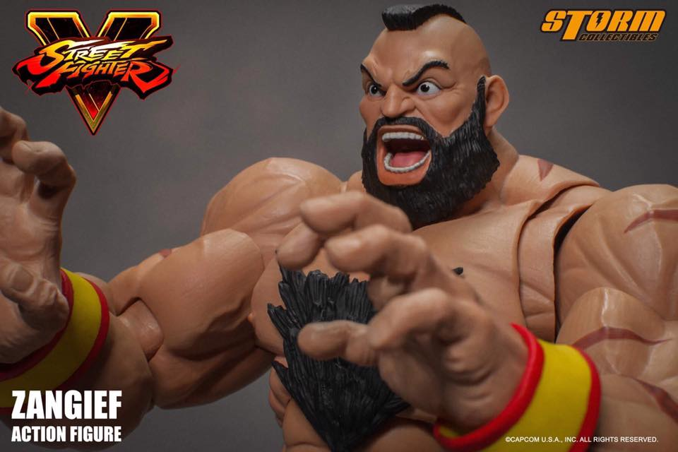 Storm Collectibles Street Fighter V Zangief Capcom
