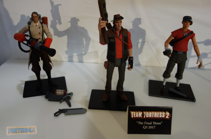 Toy Fair 2017 NECA Team Fortress 2