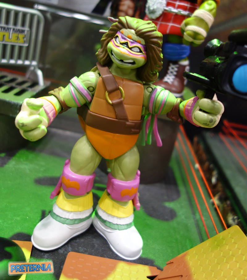 Toy Fair 2017 Playmates TMNT WWE