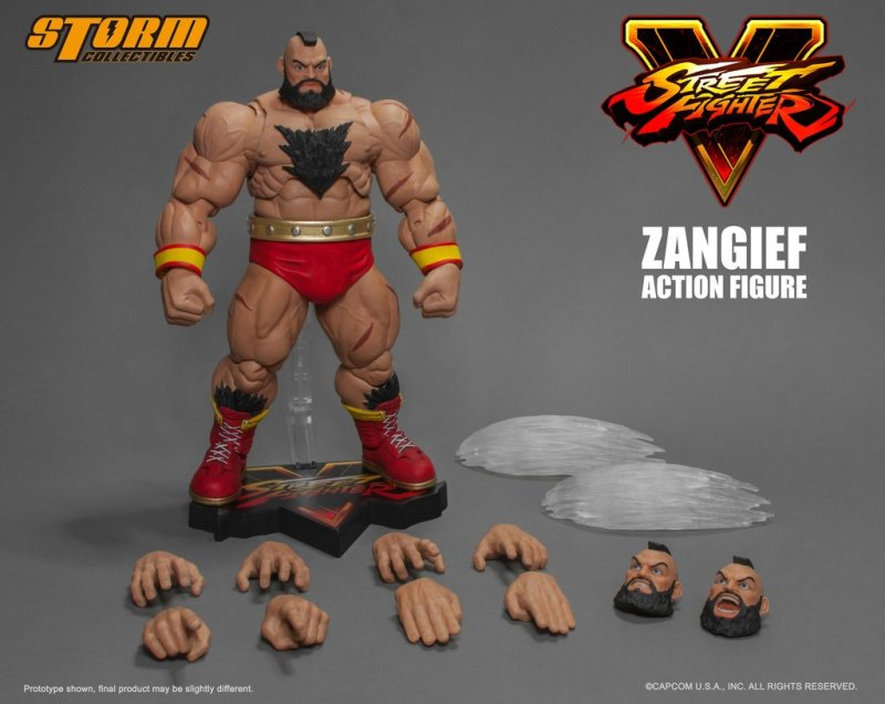 Storm Collectibles SFV Zangief