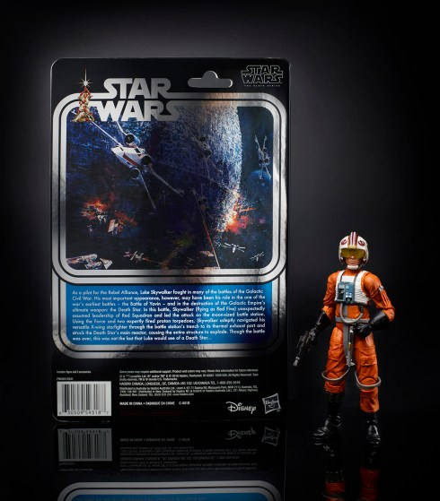 STAR WARS THE BLACK SERIES 6-INCH 40th ANNIVERSARY Celebration Exclusive - Luke Skywalker (oop 3)
