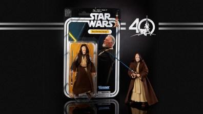 STAR WARS THE BLACK SERIES 6-INCH 40th ANNIVERSARY - Obi Wan Kenobi (in pkg)