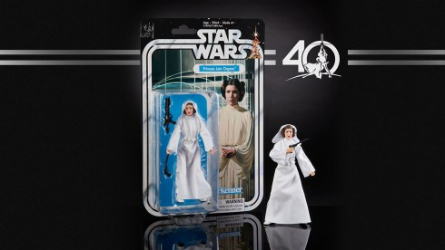 STAR WARS THE BLACK SERIES 6-INCH 40th ANNIVERSARY - Princess Leia (in pkg)
