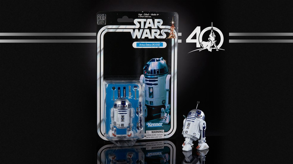 STAR WARS THE BLACK SERIES 6-INCH 40th ANNIVERSARY - R2-D2 (in pkg)
