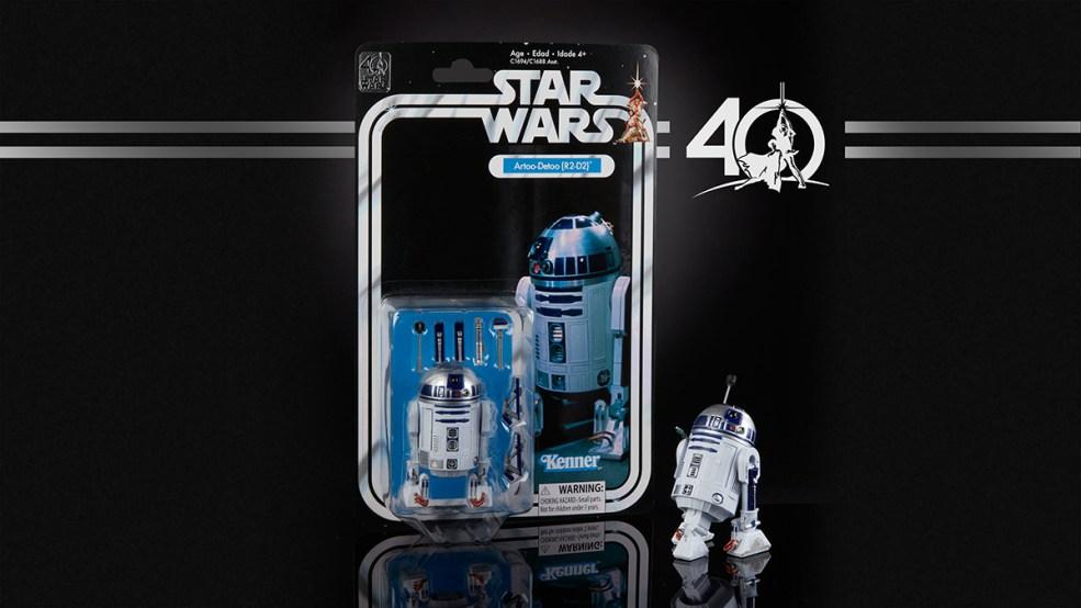 STAR WARS THE BLACK SERIES 6-INCH 40th ANNIVERSARY - R2-D2 (in pkg)