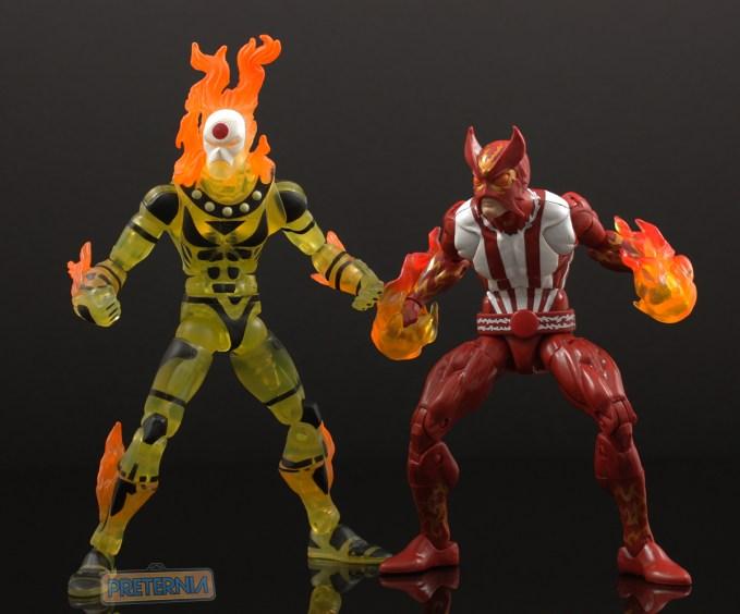 Hasbro Marvel Legends Warlock Series Sunfire Review