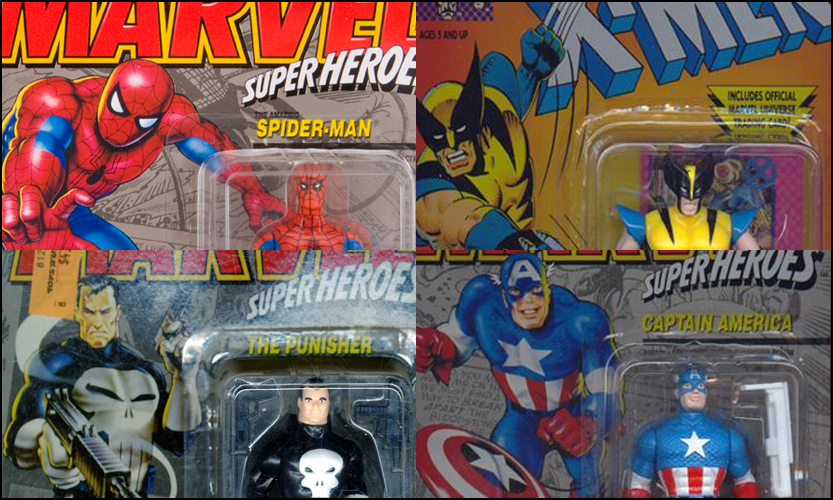 Hasbro Marvel Legends Six-Inch Retro Toy Biz