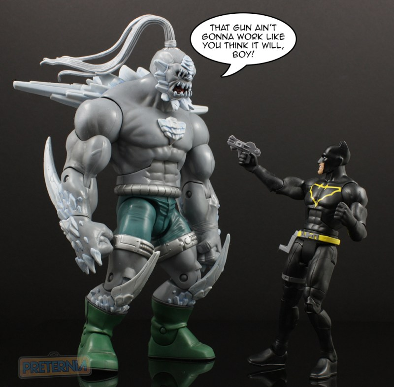Mattel DC Multiverse King Shark Series Jim Gordon Batman Review