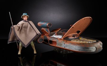 STAR WARS THE BLACK SERIES X-34 LANDSPEEDER & 6-INCH LUKE SKYWALKER - SDCC Exclusive (2)