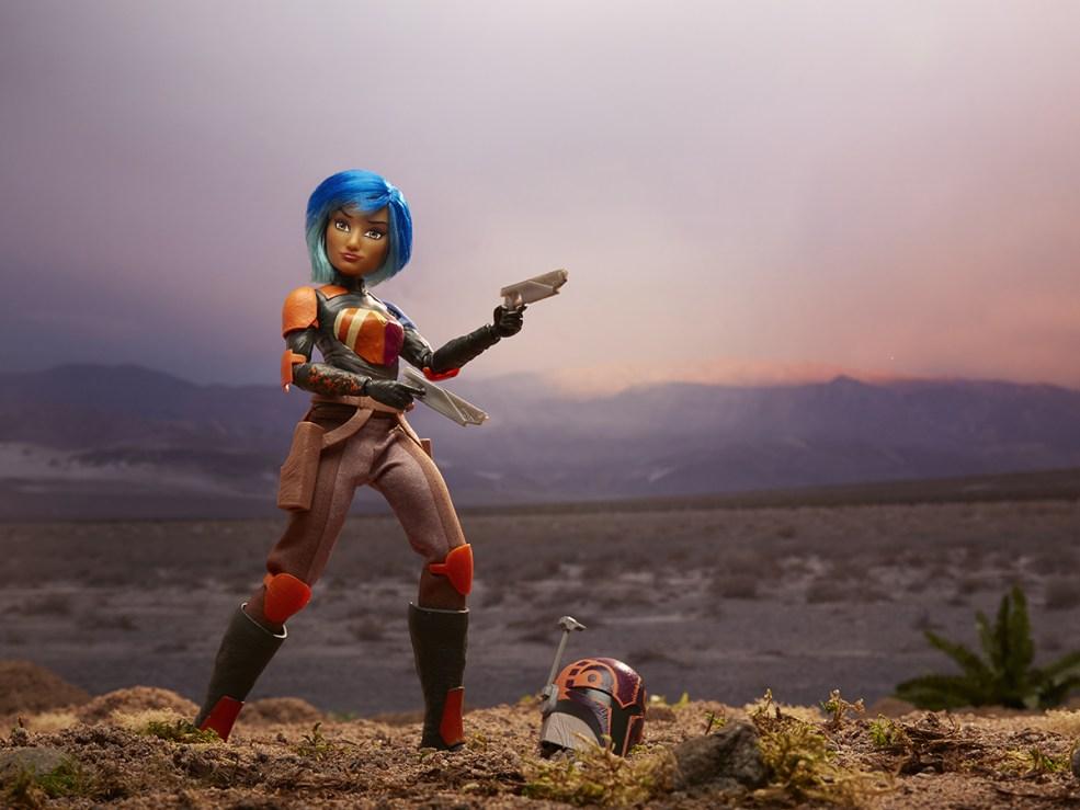 Star Wars Forces of Destiny 11-Inch Adventure Figure Assortment - Sabine Wren