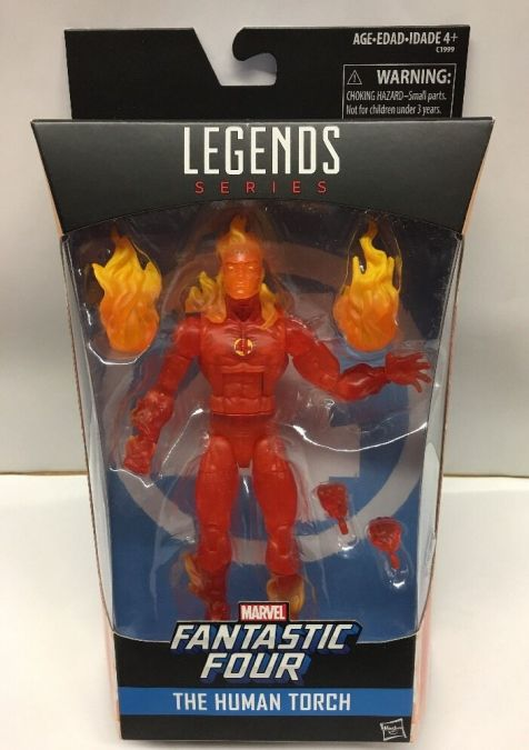 Hasbro Marvel Legends Human Torch