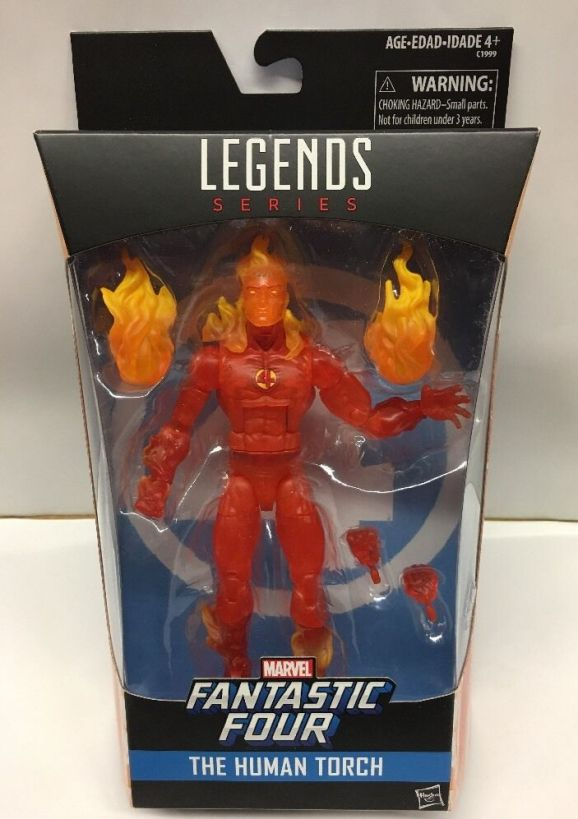 Hasbro Marvel Legends Human Torch
