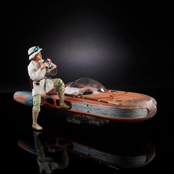 Hasbro Star Wars Black Series Luke Speeder