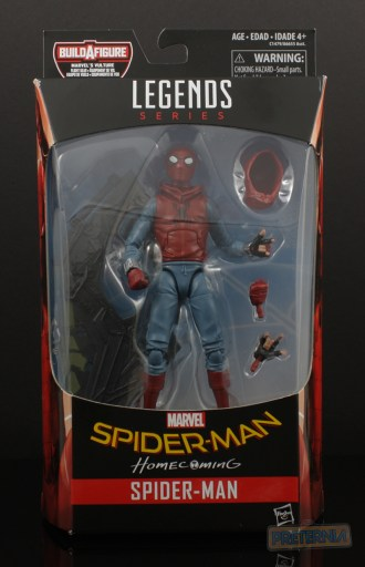 Hasbro Marvel Legends Homemade Suit Spider-Man Homecoming Review