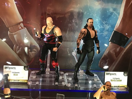 Tamashii Nations World Tour NYC WWE Figuarts