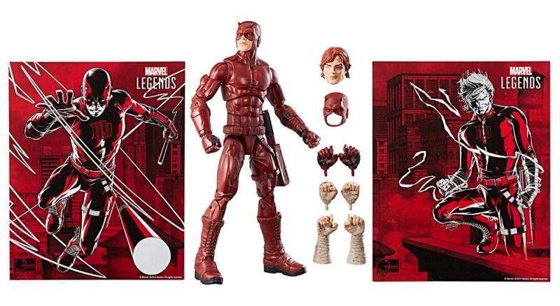 SDCC 2017: Hasbro Reveals Marvel Legends 12-Inch Daredevil Exclusive!