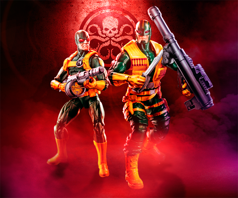 Marvel Legends Series 6-inch Hydra 2-Pack