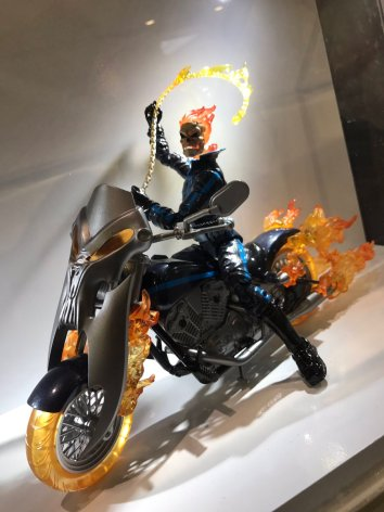 HASCON Marvel Legends Ghost Rider Black Widow Bike