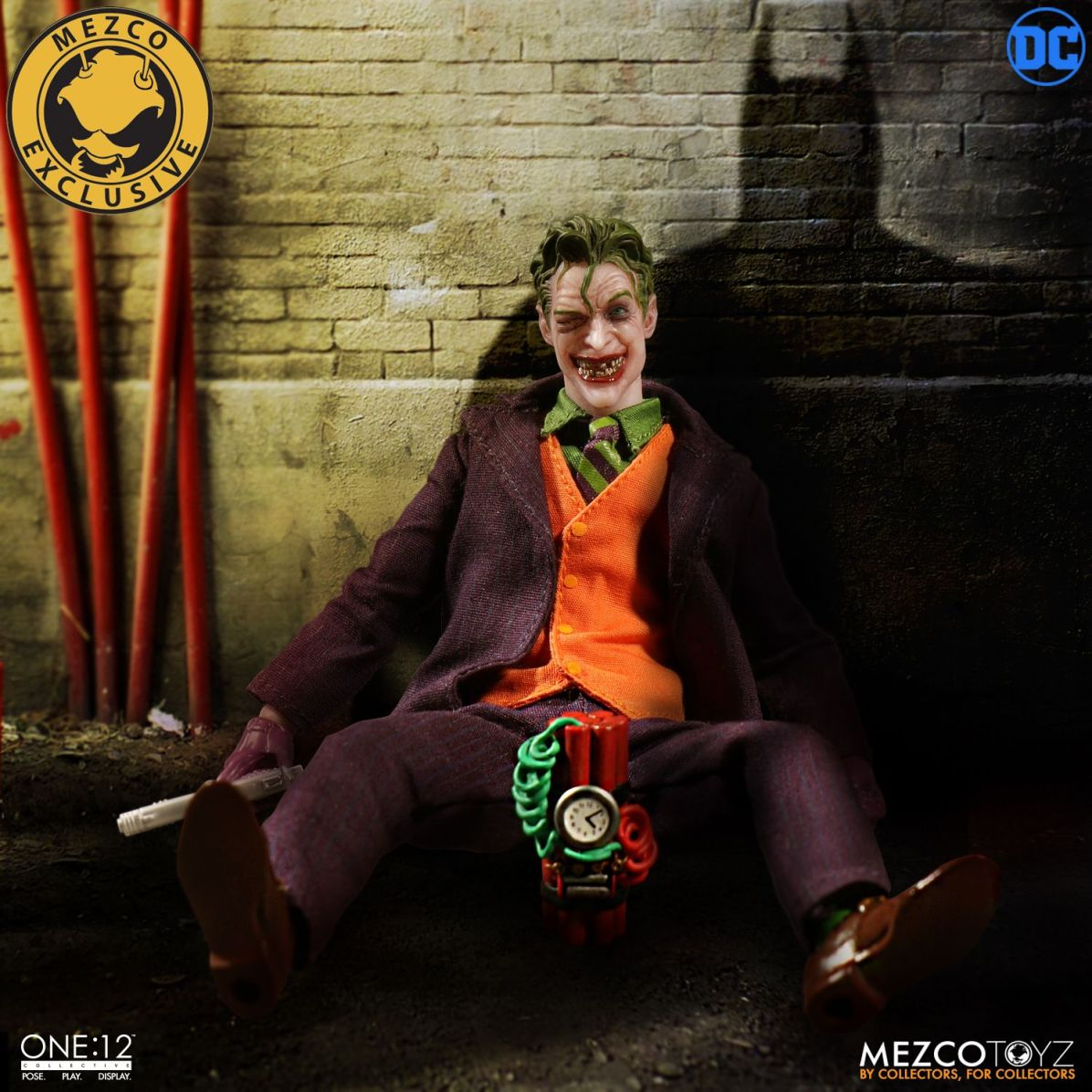 Mezco: One:12 DC Joker Deluxe Edition Available for Preorder
