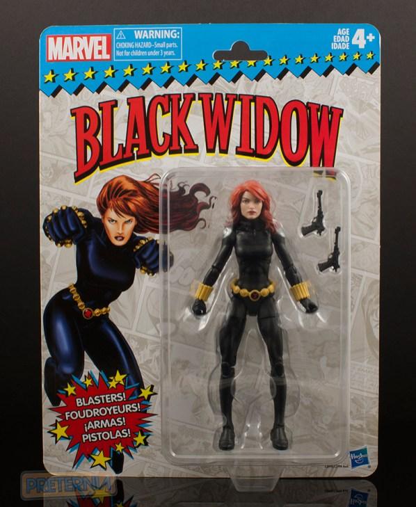 Hasbro Marvel Legends Vintage Series Black Widow Review