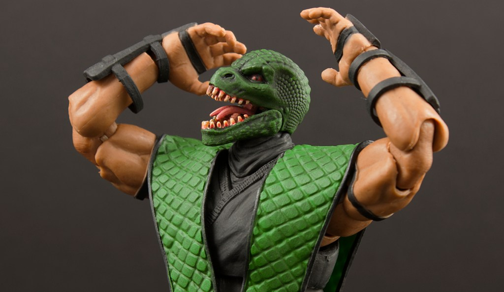 Storm Collectibles Mortal Kombat Reptile Review