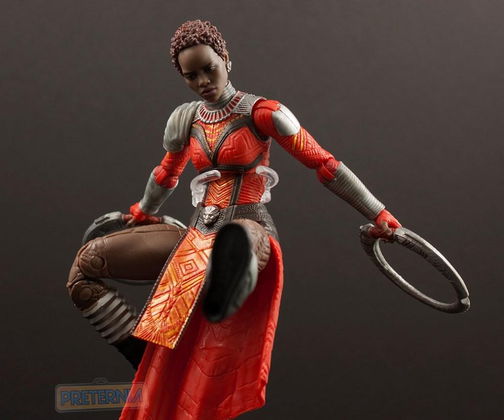Marvel Legends Black Panther Okoye Series Nakia Review