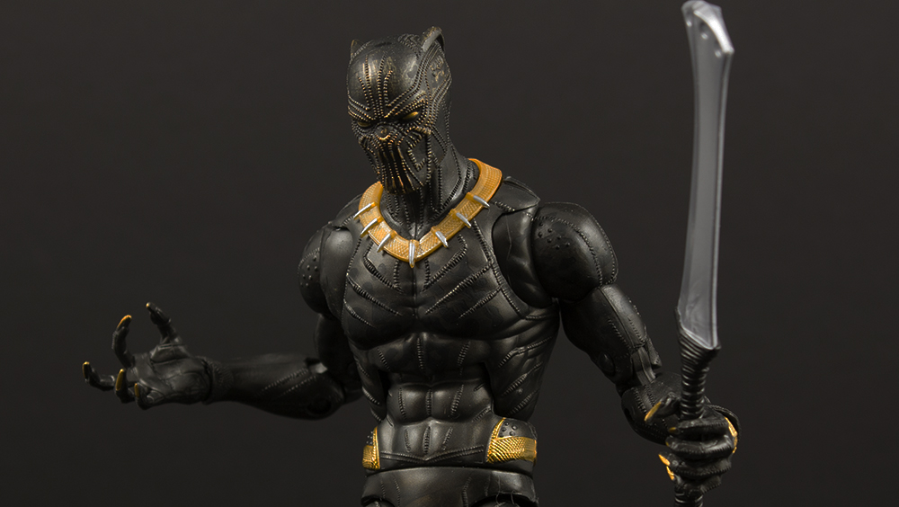 Marvel Legends Black Panther Okoye Series Erik Killmonger Review
