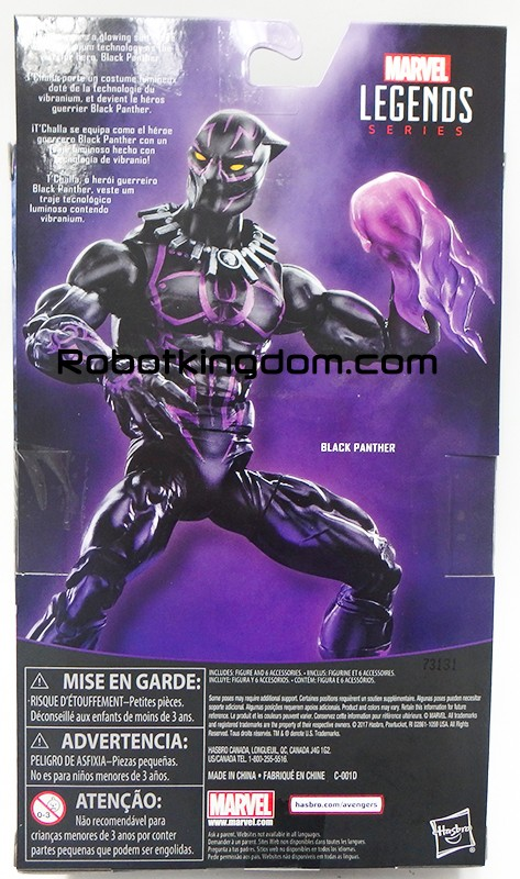 Hasbro: New Marvel Legends Walmart Exclusive ANAD Black Panther Revealed