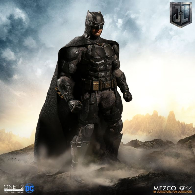 Mezco: One:12 Justice League Tactical Suit Batman Available for Preorder