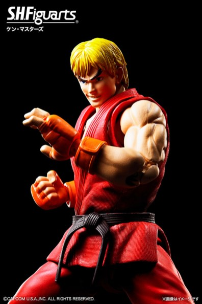 Bandai: Street Fighter S.H. Figuarts Ken and Sakura Announced