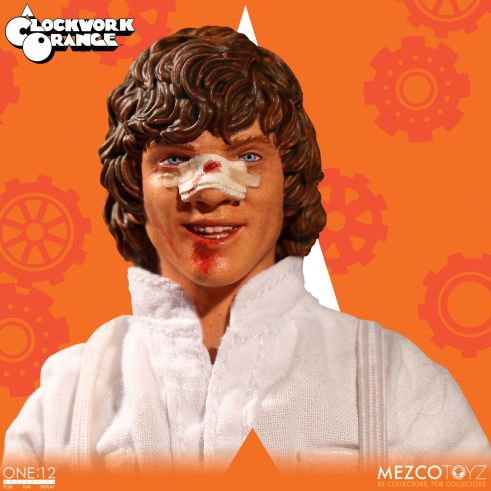Mezco: One:12 A Clockwork Orange Alex DeLarge Available for Preorder