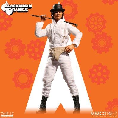 Mezco: One:12 A Clockwork Orange Alex DeLarge Available for Preorder