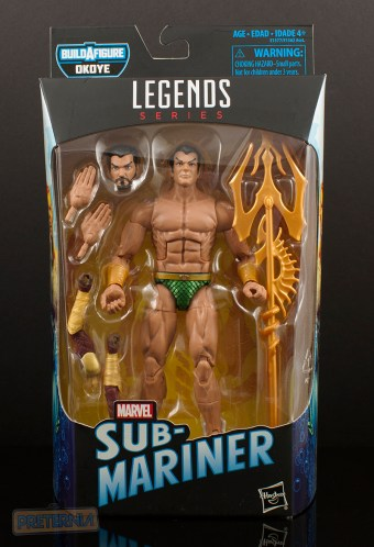 Marvel Legends Black Panther Okoye Series Namor the Sub-Mariner Review
