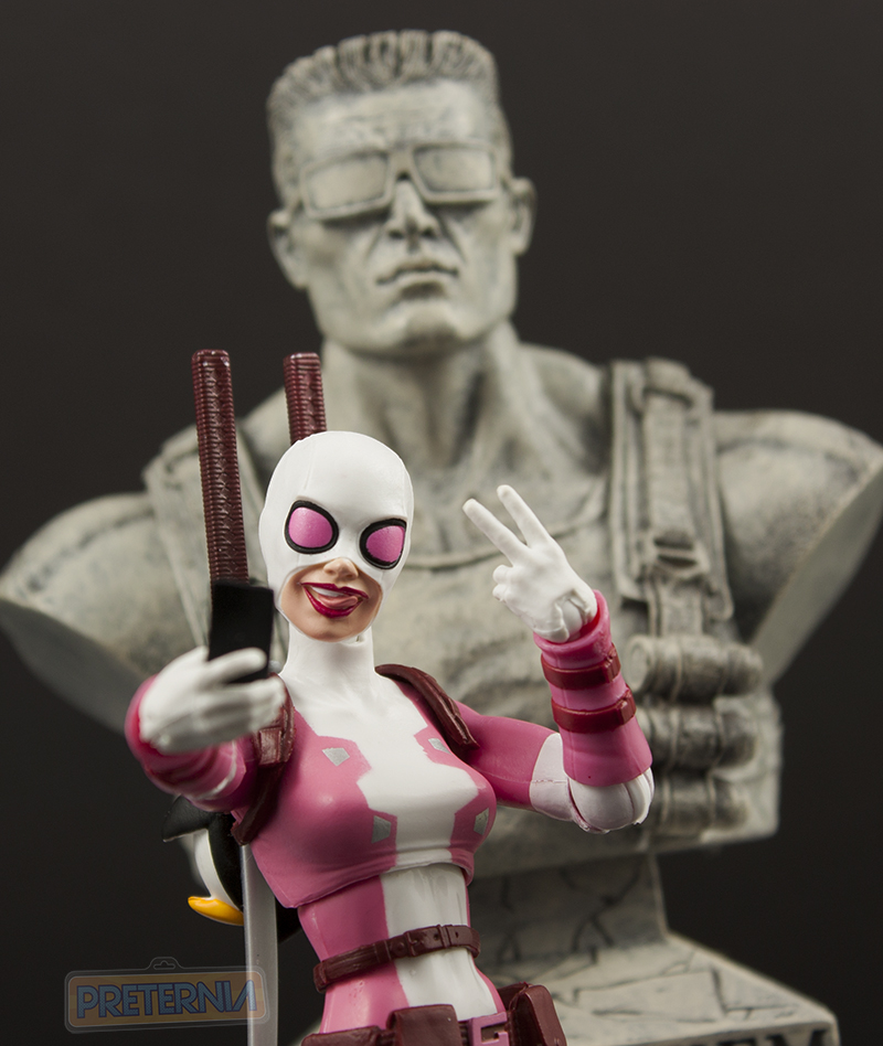 Marvel Legends Spider-Man Lizard Series Gwenpool Review
