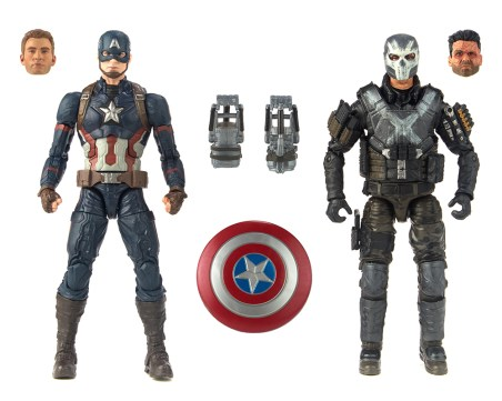 Hasbro: 'Marvel Studios The First Ten Years' Marvel Legends Captain America and Crossbones