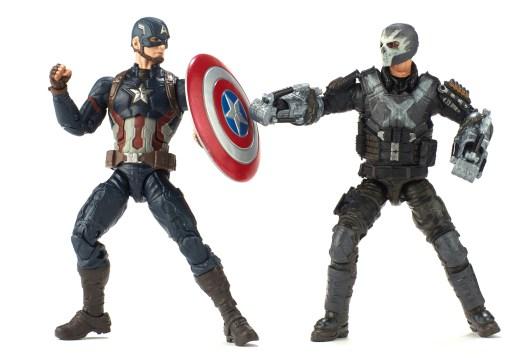 Hasbro: 'Marvel Studios The First Ten Years' Marvel Legends Captain America and Crossbones